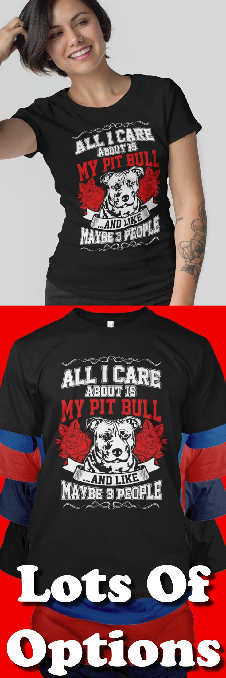 Pit Bull Shirt: Are You A Pit Bull Lover? Love Pit Bulls? Wear Pit Bull Shirts? Great Pit Bull Lovers Gift! Lots Of Sizes & Colors. Like Pit Bull, Pit Bull Mama, Is Your Pit Bull Family? Strict Limit Of 5 Shirts! Treat Yourself & Click Now! https://teespring.com/VM57-439