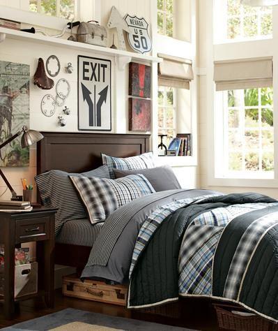 Habitación juvenil con un toque vintage