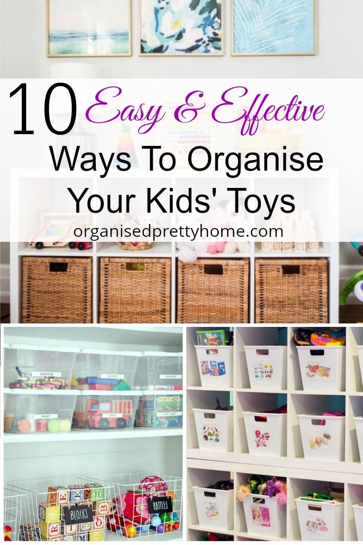Is the mess and clutter of the kids' toys driving you crazy?  Here's 10 organizing ideas and storage solution. Best toy organisation ideas for kids. Whether in a children playroom, living room or bedroom.  Shelves   #playroom #playroomideas #toyorganization #playroomstorage #kidsroom #kidsbedroom #kidstoystorage #toystorageideas