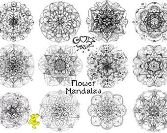 Join Me Into The Magic Of Mandala Coloring For Instant Digital Download