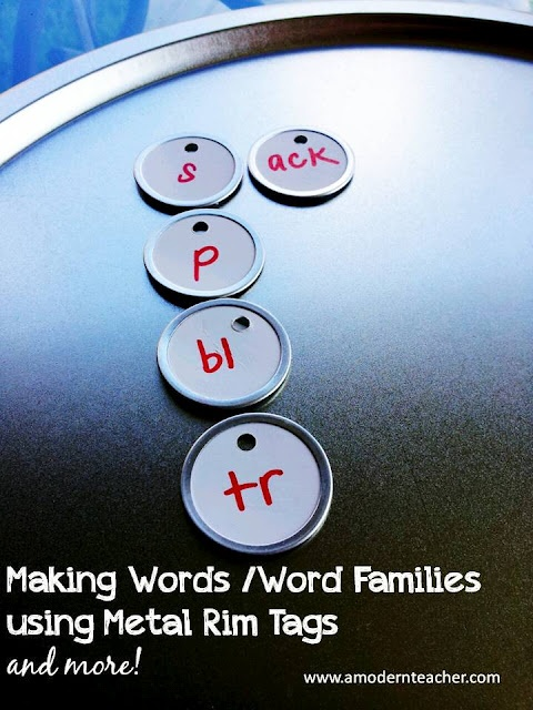 DIY:: Making Words and Word Families: Water Bottle, Classroom Tips, Bottle Cap, Word Families, Modern Teacher, Words Work, Words Families, Work Ideas, Diy Projects