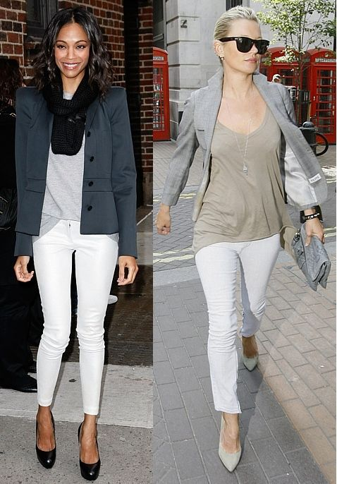 32 best White Skinny Jeans images on Pinterest