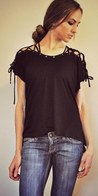 DIY t-shirt revamp