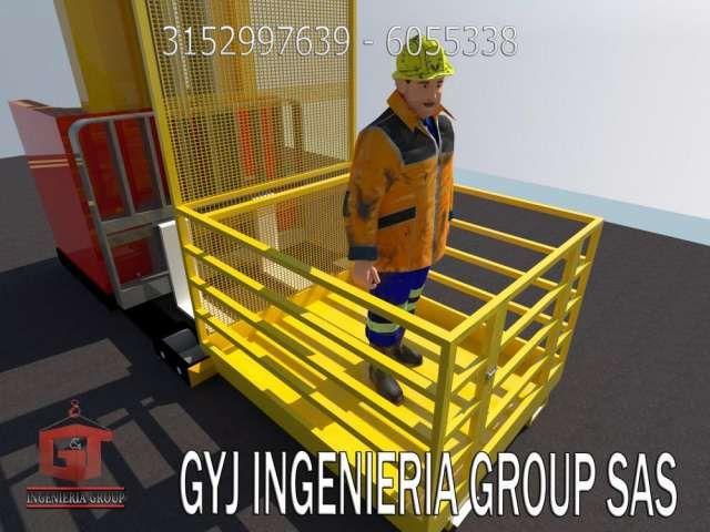 PROTECCIÓN INDUSTRIAL Y ELEMENTOS DE LOGÍSTICA, CANASTILLAS PARA MONTACARGAS Y PLATAFORMAS DE CARGAS IMPORTAMOS EQUIPOS PARA MOVIMIENTO DE CARGA PLATAFORMAS Y  .. http://bogota-city.evisos.com.co/proteccion-industrial-y-elementos-de-logistica-canastillas-para-id-413663