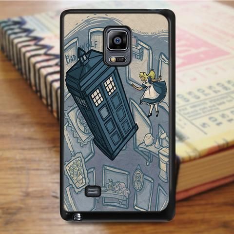 Alice And Wonderland Doctor Who Samsung Galaxy Note Edge Case