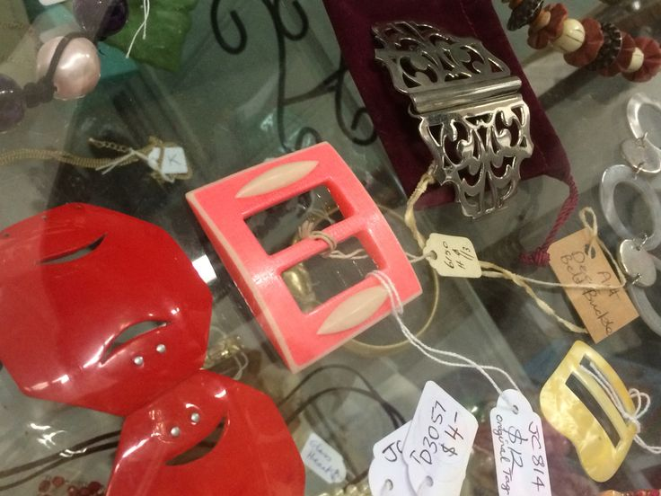 Vintage 1930/40's Art Deco Belt Buckles from $ 12 at Preloved Tecoma.