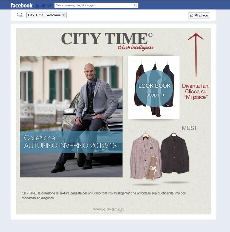 Cliente: City Time - Textura Spa Progetto: Realizzazione facebook fanpage. Attività: Campagna Social Media Marketing.