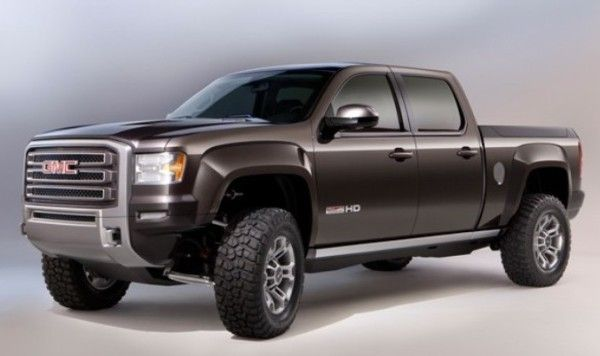 2015 GMC Sierra All Terrain HD Side Exterior View 600x356 2015 GMC Sierra All Terrain HD Review, Features with Images