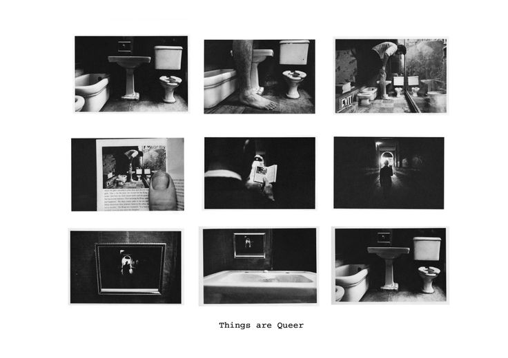 Duane Michels. Things Are Queer (1973), gelatin silver print, 9 images.