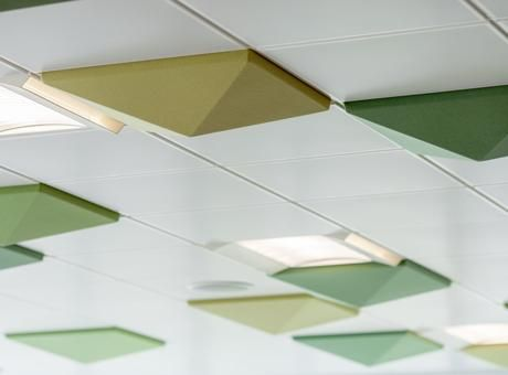3D Ceiling Tile FACTS DeckenplattenAkustischDeckenFakten