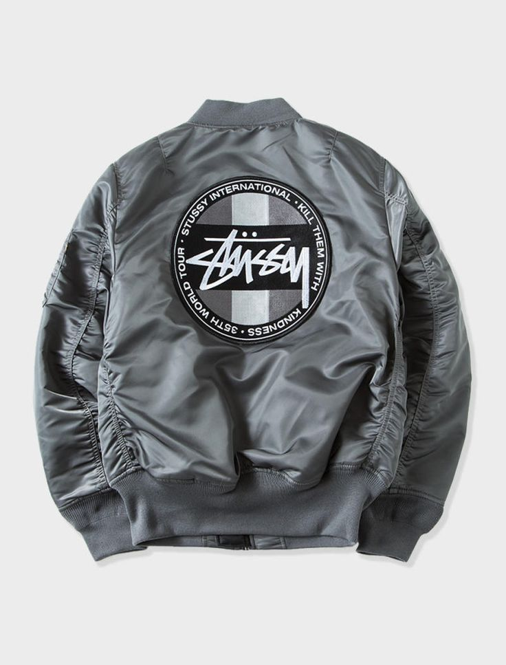 Stussy links up with Alpha Industries to release a collection of military-inspired outerwear, available tomorrow.