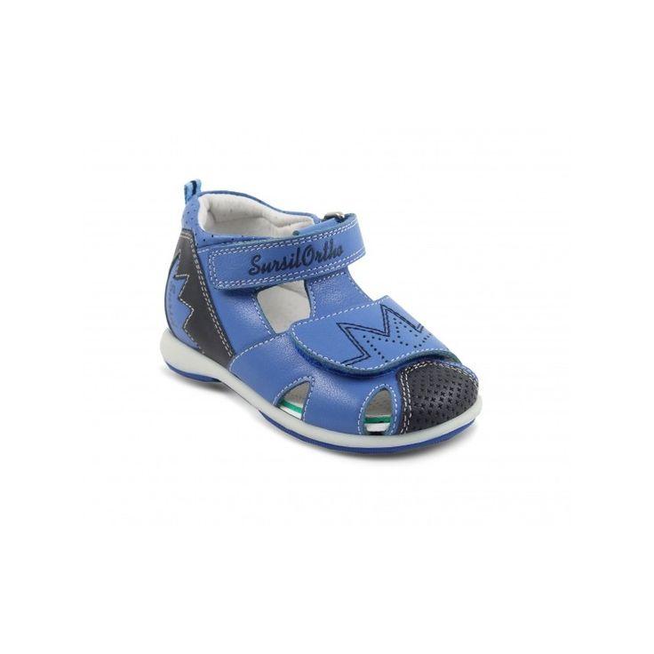 Сандалии голубые для мальчиков Sursil-Ortho