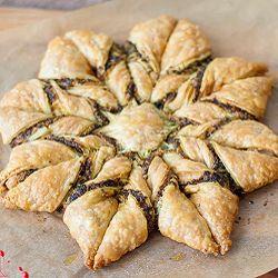 Recipe photo: Pesto puff pastry pinwheel
