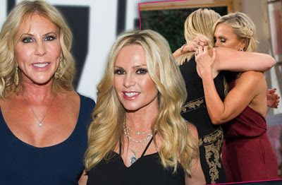 Vicki Gunvalson And Tamra Judge's Reconciliation Reportedly Causing RHOC Production Issues!