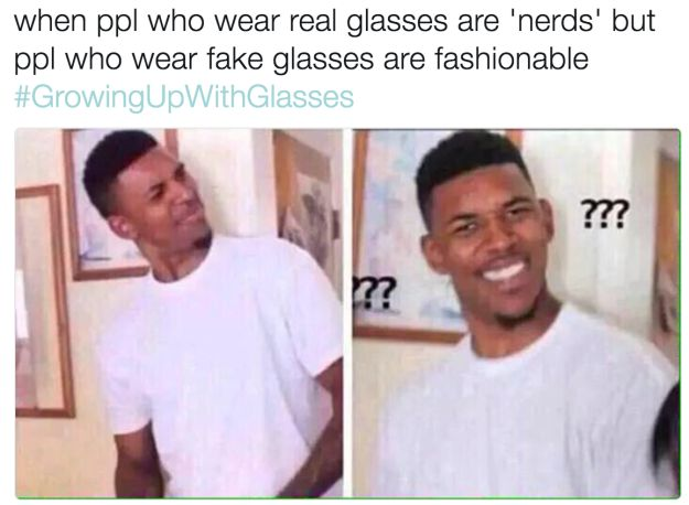 50 Memes About Growing Up With Glasses That Will Make You Laugh So Hard You Can't See Straight