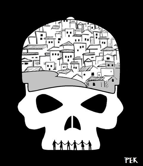 Pete Kreiner (2016-08-13) JO 2016: Rio's Favela Resistance. Rio de Janeiro's favela residents vow to stand strong in resistance despite the unleashing of a brutal wave of violence against them involving the infamous grey-clad anti-slum BOPE police units, continuing even now behind the Olympic facade with summary killings and the bulldozing of dwellings. https://www.amnesty.org/en/latest/campaigns/2016/06/deadly-side-rio-olympics-2016/