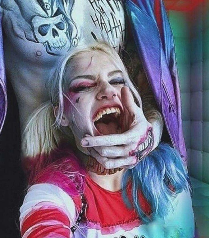 Joker and Harley. Sexy.