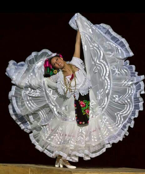 Traje Tipico de Veracruz México.