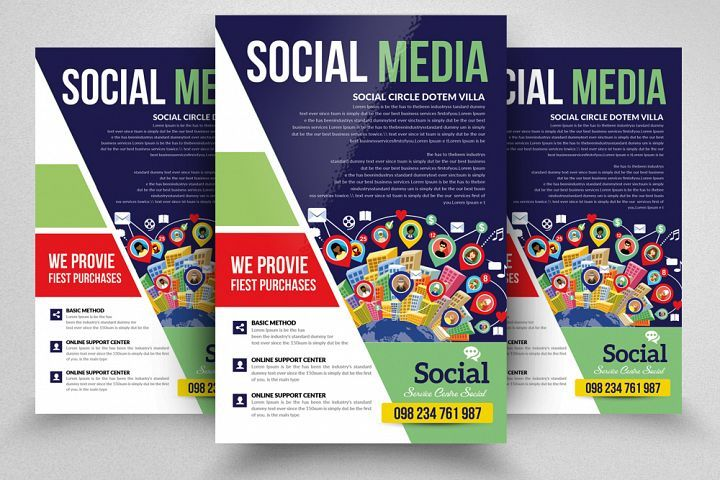 Social Media Marketing Flyer Marketing Flyers, Social Media