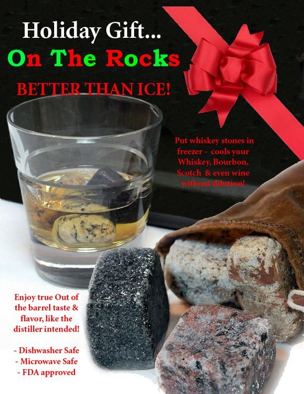 On The Rocks - Unique Holiday Gift idea under $20! Chill ...