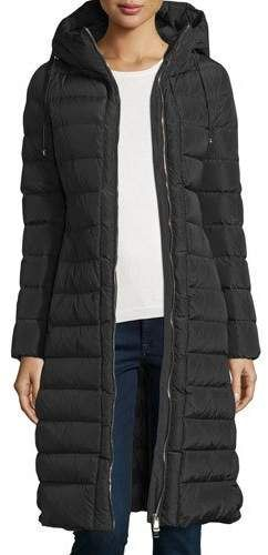 e92ef04e #affiliatead -- Moncler Imin Long Quilted Puffer Coat, Black -- #chic only  #glamour always