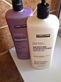 Kirkland Shampoo and Conditioner have been compared to high-end brands such as Pureology.