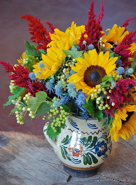 Country French flower arrangement