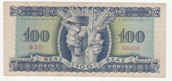 100 forint - 1946 - Magyar papírpénzek honlapja - Bankjegyek.com