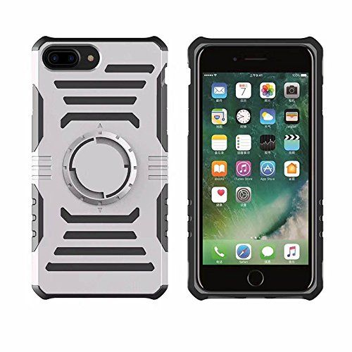 Lakey Newest Luxury For iPhone 7G 7 Plus Magnetic case Gym Sports Running Armband Arm Band Case Cover TPU+PC Magnetic case (gray for iPhone 7P)
