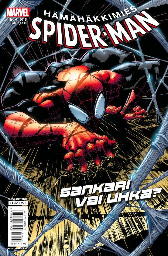 Hämähäkkimies - Spider-Man nro 6/2015. #sarjakuva #sarjakuvalehti #sarjis #egmont #marvel