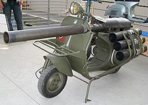 Vespa 150 TAP - Perfect for the commute into work.