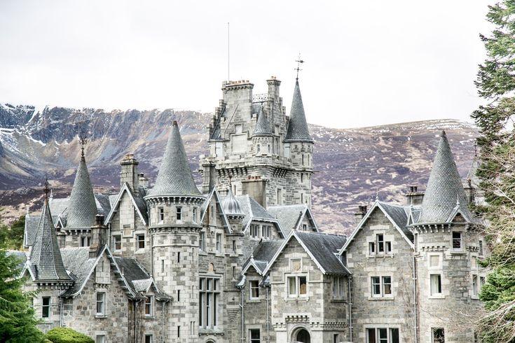 Scotland, fairytale castles of Ardverikie