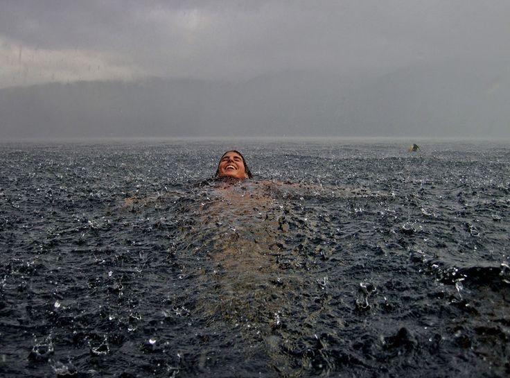 Camila Massu - merit winner of the National Geographic Traveler Photo Contest 2012Water, The National, Chile, Lakes House, Travel Photos, National Geographic, The Ocean, Swimming, Rain