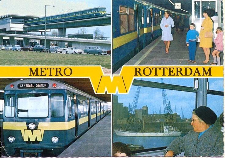 Aanzichtkaart van Rotterdam.