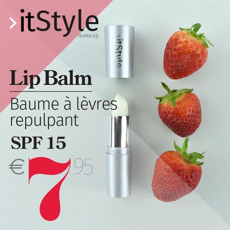 #itStylemakeup L' avez-vous déjà essayé? le nouveau #LipBalm #itstyle Disponible en 6 délicieux goûts, qui vous fera des #lèvres immédiatement lisses et pleines grâce à l'acide hyaluronique et son action hydratante. Il contient aussi du beurre de karité, de l'allantoïne, connue pour ses propriétés adoucissantes, et de la Vitamine E. #cosmetics  #maquillage #lèvres #makeup #beauty #beauté #cosmétique