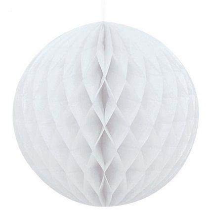 lot de 20 boules alvéolé pour decoration mariage anniversaire naissance baptême (gris, 8cm): Amazon.fr: Cuisine & Maison