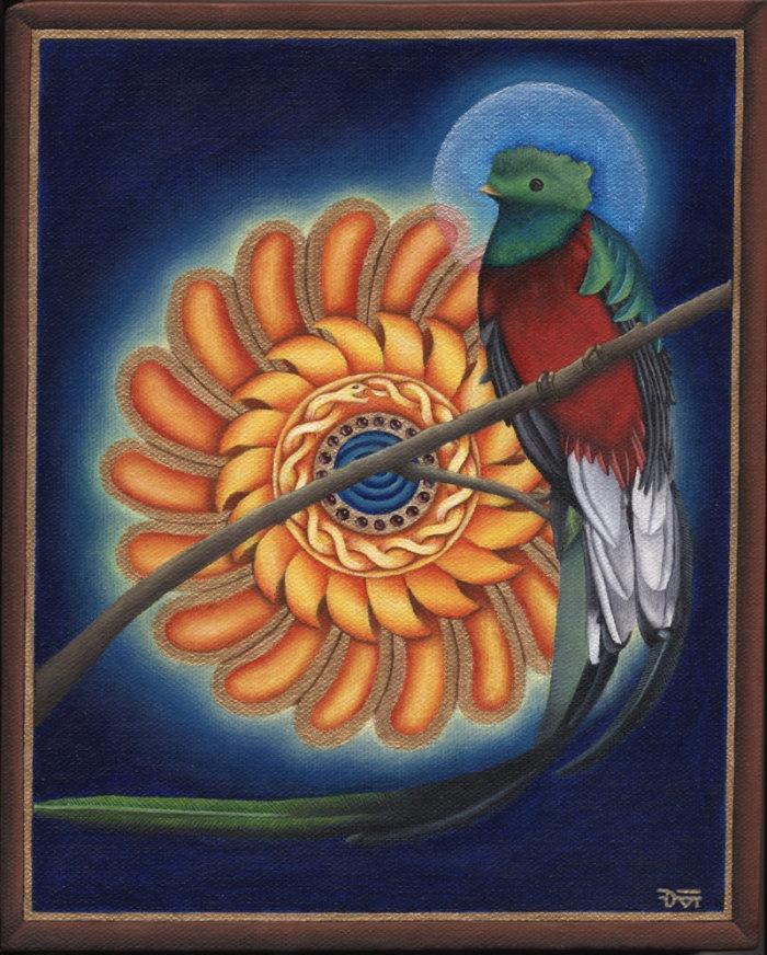 Resplandeciente Quetzal by Don Farrell