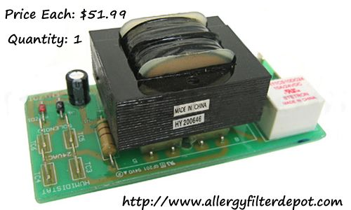 Aprilaire #4238 Circuit Board | CALL - 888-616-FILTER  For Model 700, 760, 760A, 768. Includes wiring harness. This part does not work with the 700A / 700M models (see relay part # 4740). Free Shipping order now: sales@allergyfilterdepot.com
