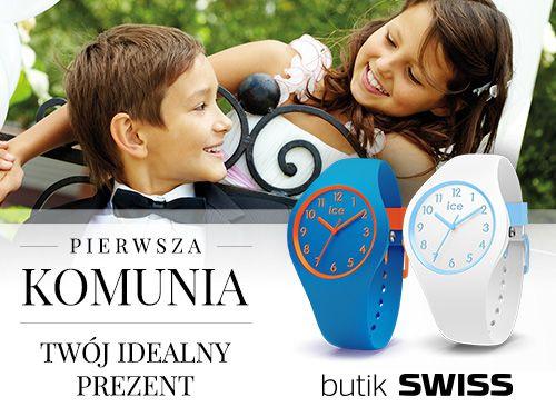 Szukasz idealnego prezentu na pierwszą komunię? U nas znajdziesz cudowną kolekcję zegarków dla dzieci.Spotkajmy się w butiku SWISS!