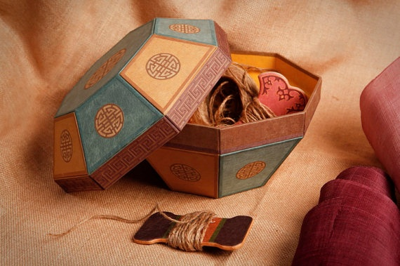 Korean handmade paper box