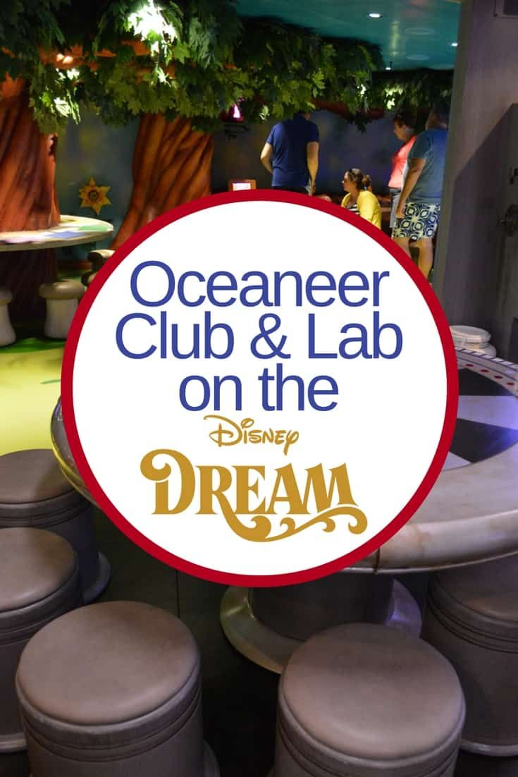Wondering what fun activities your kids might want to do while on a cruise aboard the Disney Dream?  If you have kids between the ages of 6-10, be sure to take them over to Oceaneer Club via @disneyinsider