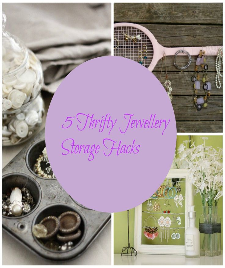 5 thrifty jewellery storage hacks 5 fabulous upcycling jewlery storage hacks