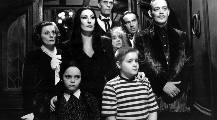 Paging the Addams Family...halloween costumes! Get the best family halloween costume ideas for 2017, including scary and diy family themed halloween costumes.