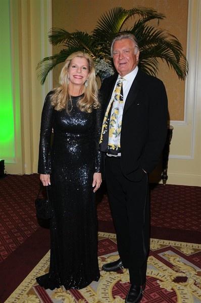 Dallas Gala 2009. Princess yasmin aga khan & Carleton Varney