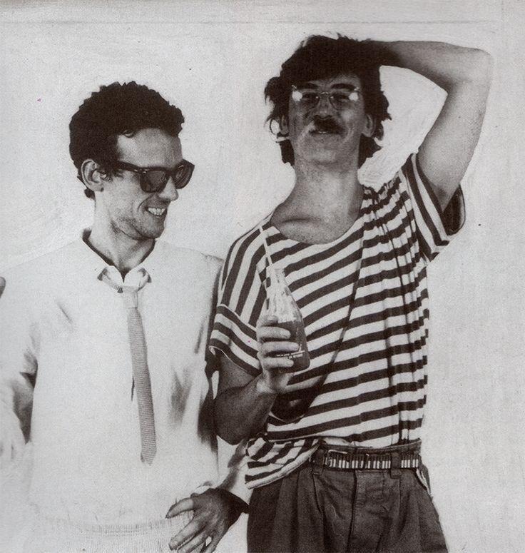 Luis alberto Spinetta y Charly Garcia