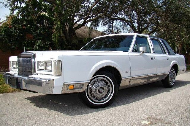 1989 Lincoln Town Car Only 46k Actual Miles New Tires Signature 1 Owner Fl Lincoln Town Car New Tyres Car
