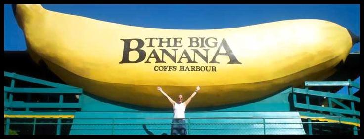 The Big Banana, Coffs Harbour, NSW, Australia
