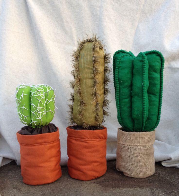 Soft sculpture cacti