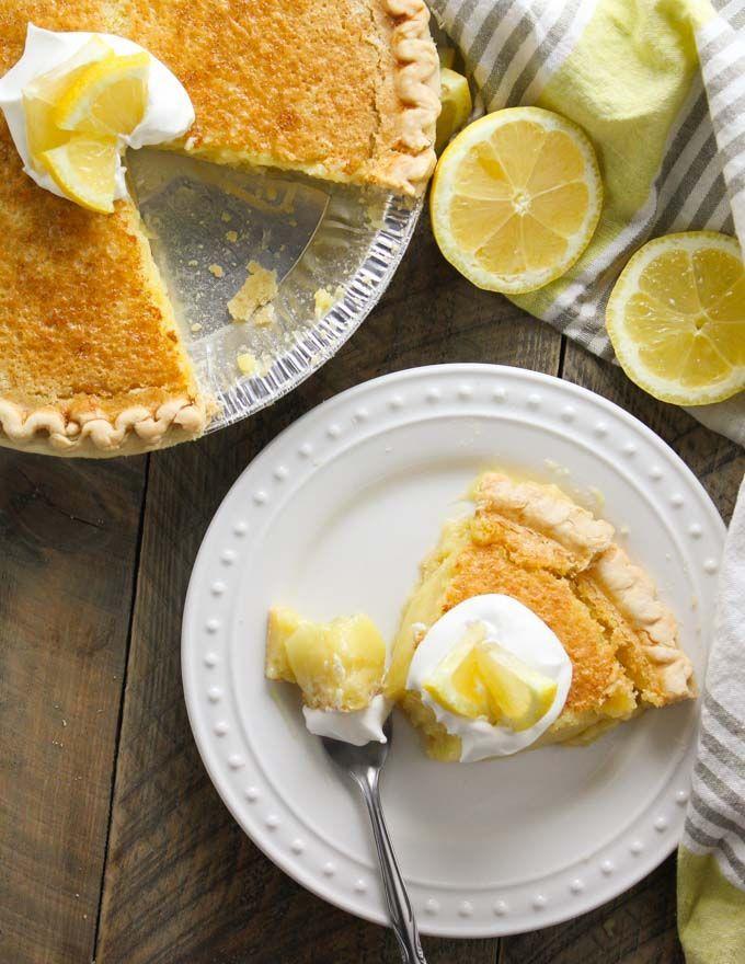 Blender Lemon Pie-7