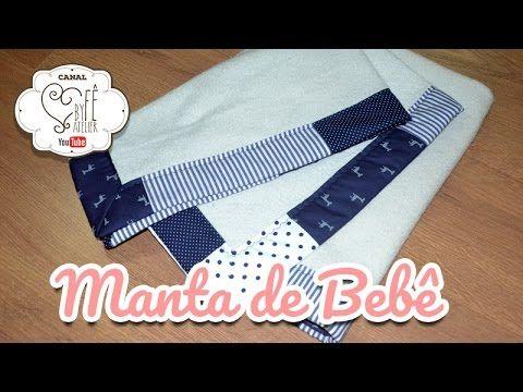 DIY ::: Manta de Bebê - By Fê Atelier